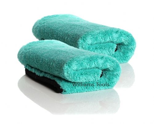 2 x Auto Finesse Aqua Deluxe Microfibre Drying Towel